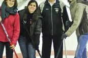 Studenti si vyzkoušeli curling