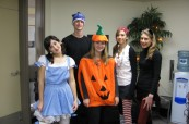 Halloween party pro studenty