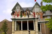 Hlavní budova školy Branksome Hall, Toronto, Ontario, Kanada