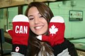 Studentka střední školy v Kanadě