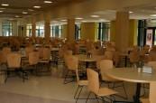 Školní jídelna, kde mají studenti zajištěné stravování je na výborné úrovni, Appleby College, Ontario