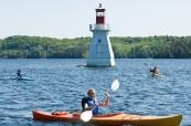 Soukromou střední školu najdeme u jezera, Rosseau Lake College, Rosseau, Ontario, Kanada