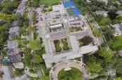 Kampus střední soukromé školy pro dívky The Bishop Strachan School, Toronto, Kanada