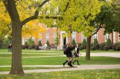 Kampus střední soukromé školy Ridley College, St. Catharines, Ontario, Kanada