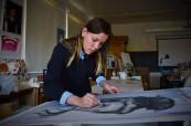 Škola nabízí různé umělecky zaměřené programy, Stanstead College, Stanstead, Québec, Kanada
