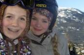 Lyžování v lyžařském středisku Whistler