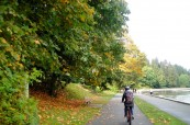 Oblíbené podzimní projížďky na kole