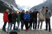 Studenti při exkurzi na Rocky Mountain