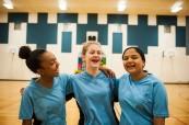 Sport je nedílnou součástí studia na střední soukromé škole Trafalgar Castle School, Whitby, Ontario, Kanada
