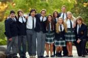Studenti střední soukromé školy Lakefield College School v Ontariu, Kanada