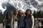 Studentky na exkurzi