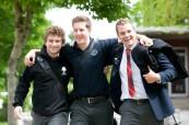 Studenti často navážou přátelství, která trvají celý život, Rothesay Netherwood School v Rothesay, Nový Brunšvik