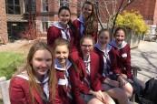 Díky studiu na střední škole vznikají přátelství, která trvají mnohdy po celý život, The Bishop Strachan School, Toronto, Kanada