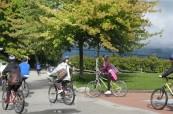 Výlet na kole po okolí